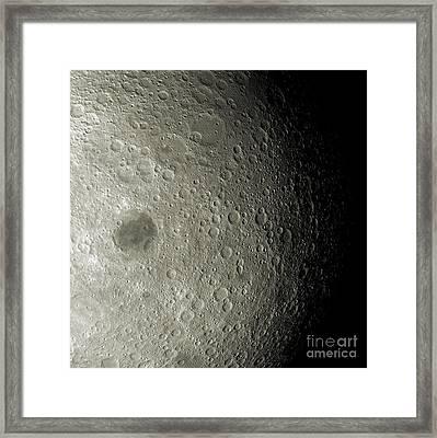 Far Side Of The Moon Framed Print