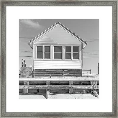 Framed Print featuring the photograph 5 - Flower Cottages Series by Edward Fielding