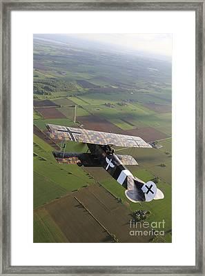 Fokker D.vii World War I Replica Framed Print by Daniel Karlsson
