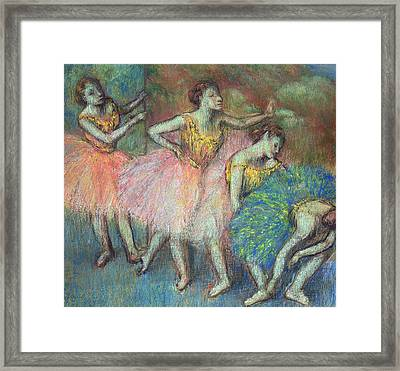 Four Dancers Framed Print