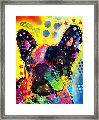 French Bulldog Framed Print by Dean Russo
