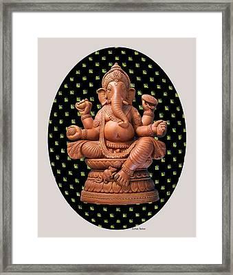 Ganesha Framed Print by Suhas Tavkar