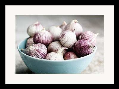 Garlic Framed Prints