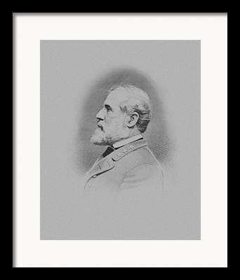 Confederacy Mixed Media Framed Prints