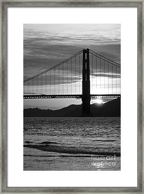 Golden Gate Bridge In San Francisco Framed Print by ELITE IMAGE photography By Chad McDermott