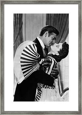 Gone With The Wind, 1939 Framed Print