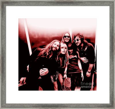Grace Potter And The Nocturnals Collection Framed Print by Marvin Blaine