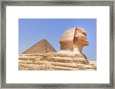 Great Sphinx Of Giza - Egypt Framed Print by Joana Kruse