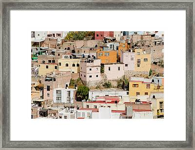 Guanajuato, Mexico. Framed Print by Rob Huntley
