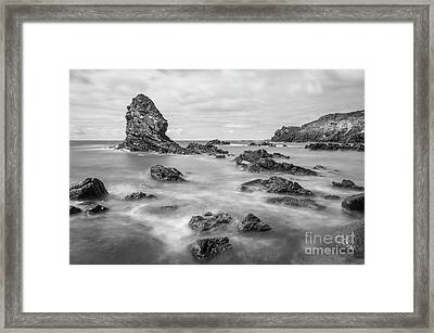 Framed Print featuring the photograph Gwenfaens Pillar by Ian Mitchell
