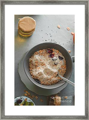 Healthy Breakfast Variety Framed Print