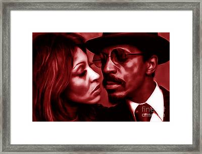 Ike And Tina Turner Collection Framed Print