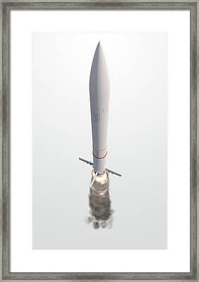 Intercontinental Ballistic Missile Framed Print