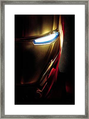 Iron Man Framed Print by Caio Caldas
