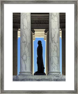 Jefferson Memorial Framed Print by John Greim