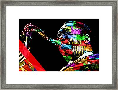John Coltrane Collection Framed Print