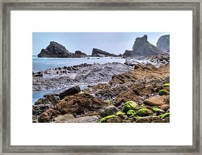 Jurassic Coast - England Framed Print by Joana Kruse