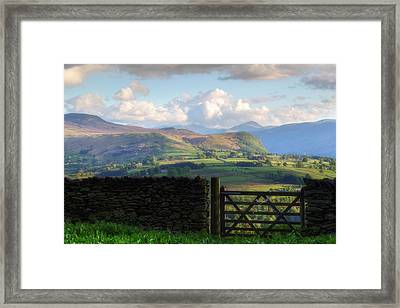 Keswick - Lake District Framed Print