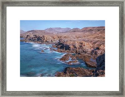 La Pared - Fuerteventura Framed Print by Joana Kruse