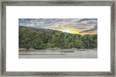 Lake Windermere Framed Print by Martin Newman