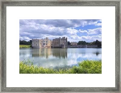 Leeds Castle - England Framed Print