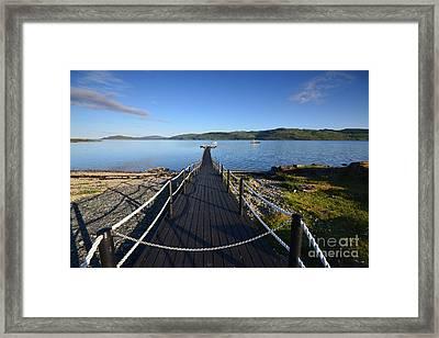 Loch Na Keal Framed Print