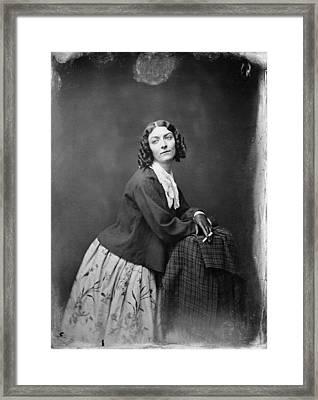 Lola Montez (1818?-1861) Framed Print