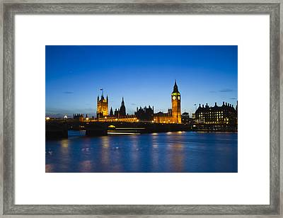London  Skyline Big Ben Framed Print