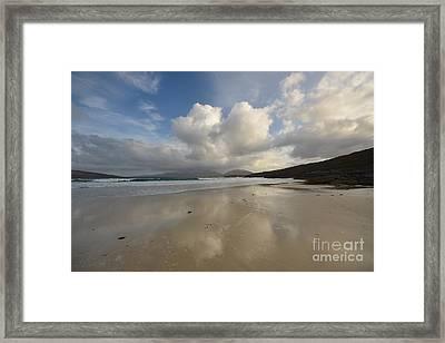 Luskentyre, Isle Of Harris Framed Print by Nichola Denny