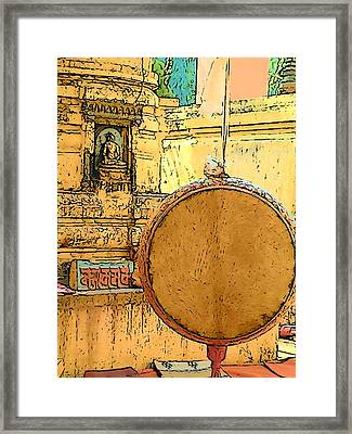 Mahabodhi Temple Framed Print by Lisa Dunn