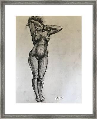 Masterstudy Framed Print by Alejandro Lopez-Tasso