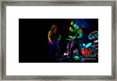 Metallica Collection Framed Print
