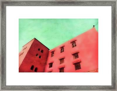 Moroccan Building Framed Print