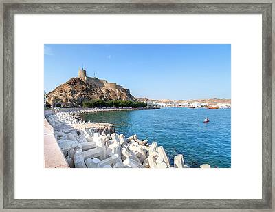 Muscat - Oman Framed Print
