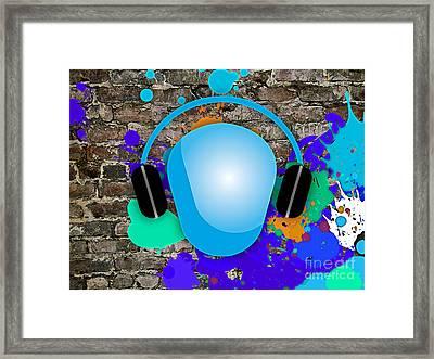 Music Framed Print by Marvin Blaine