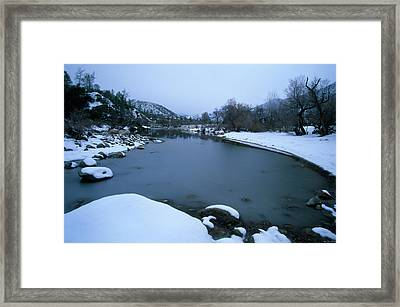 North Fork Kern River Framed Print by Soli Deo Gloria Wilderness And Wildlife Photography