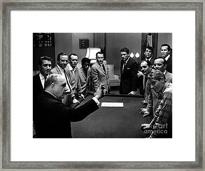 Ocean's 11 Promotional Photo Framed Print by The Titanic Project