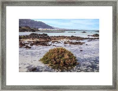 Orzola - Lanzarote Framed Print by Joana Kruse