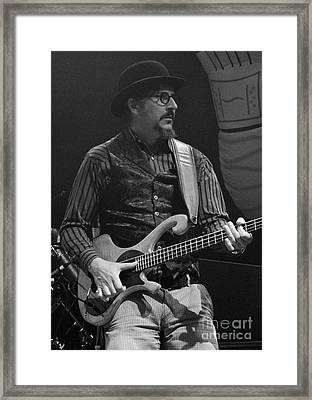 Primus - Les Claypool - Bonnaroo Music Festival Framed Print