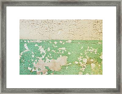 Prison Wall Texture Framed Print by JAMART Photography