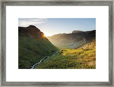 Rila Mountain Framed Print by Evgeni Dinev