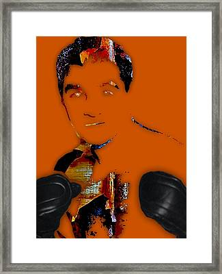 Rocky Marciano Collection Framed Print by Marvin Blaine