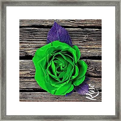 Rose Wood Collection Framed Print by Marvin Blaine