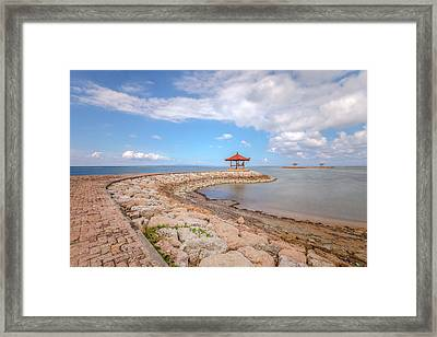 Sanur Beach - Bali Framed Print by Joana Kruse