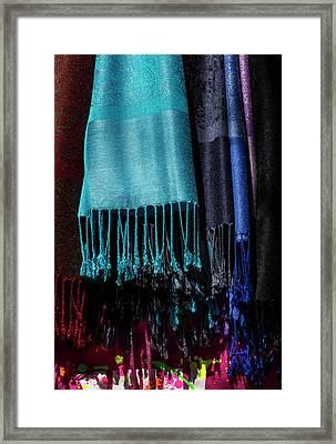 Scarves Framed Print by Robert Ullmann