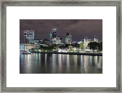 Skyline Of London Framed Print