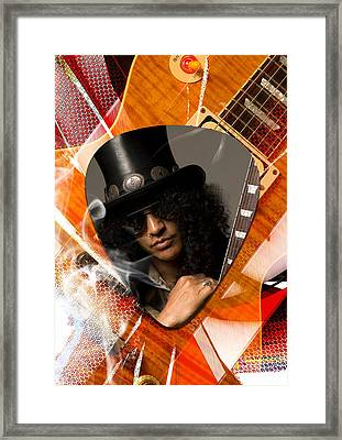 Slash Art Framed Print