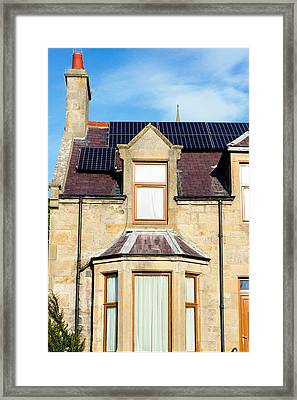 Solar Panels Framed Print