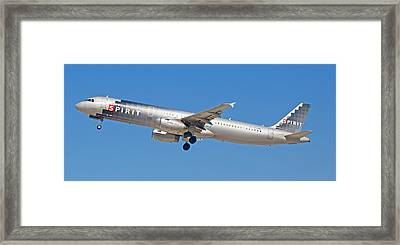 Spirit Airline Framed Print