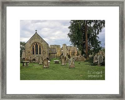 St Agathas Framed Print by Nichola Denny